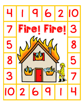 Fire! Math Pack Comparing Numbers