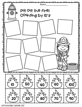 Fire Prevention Printables and Emergent Reader Set