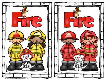 Fire Prevention Centers: Close Read, Literacy, and Math Centers