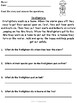 Fire Prevention Comprehension Pack