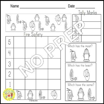 Fire Safety Task Cards
