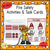 Fire Safety Count and Clip Task Cards