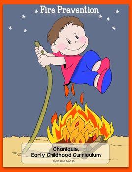 Fire Prevention (Kindergarten Topic Unit 6)