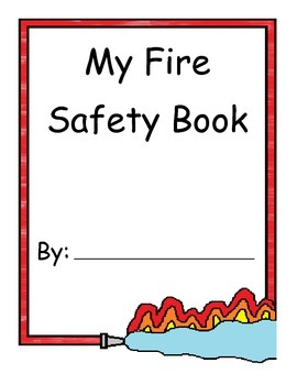"""Fire Prevention, """"My Fire Safety Book"""""""
