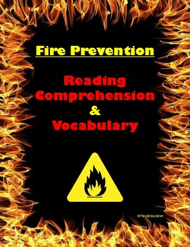 Fire Prevention Reading/Listening Comprehension for Vocabulary and Context Clues