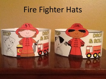 Fire Prevention Week Firefighter Hats