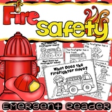 Fire Prevention Week Safety Emergent Reader