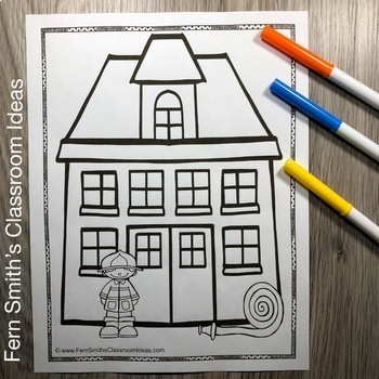 Fire Safety Coloring Pages Dollar Deal - 14 Pages of Fire Safety Coloring Fun