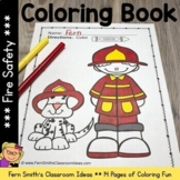 Fire Safety Coloring Pages Dollar Deal - 17 Pages of Fire