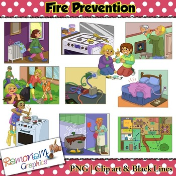Fire Prevention clip art