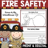 Fire Safety Activities and Graphic Organizers
