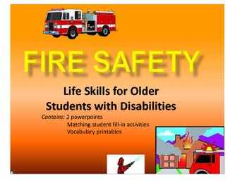 Fire Safety for Secondary Students with Disabilities