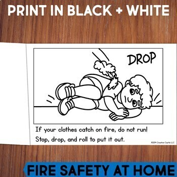 Fire Safety Guided Reading Books