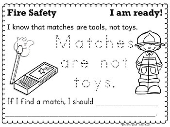 Fire Safety Week Printable Activities