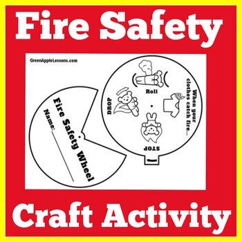 Fire Safety Kindergarten | Fire Safety Activity | Fire Safety Month