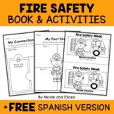 Mini Book and Activities - Fire Safety Week
