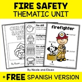 Thematic Unit - Fire Safety Activities