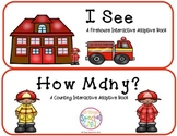 "Fire Safety 2 Interactive Adaptive Books (""I See"" and ""How Many?"")"