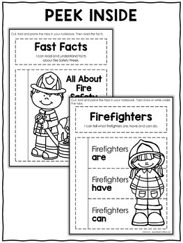 Interactive Notebook - Fire Safety Activities