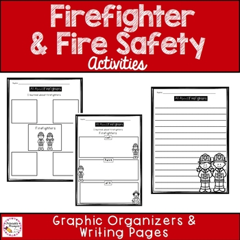 Fire Safety Fun! {Literacy Activities}