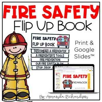 Fire Safety Flip Up Books