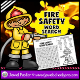 Fire Safety Activities (Fire Safety Week Word Search)