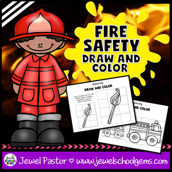 Fire Safety Week Activities (Fire Safety Week Worksheets)
