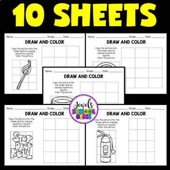 Fire Safety Activities (Fire Safety Week Worksheets)