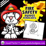 Fire Safety Activities (Fire Safety Week Finger Puppets)