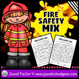 Fire Prevention Week Activities (Fire Safety Math Worksheets)
