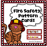 Fire Safety Activities Pattern Cards