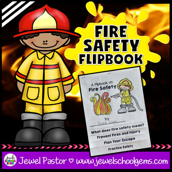 Fire Safety Activities (Fire Safety Week Flipbook)
