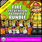 Fire Safety Activities BUNDLE (Fire Safety Week Flipbook,