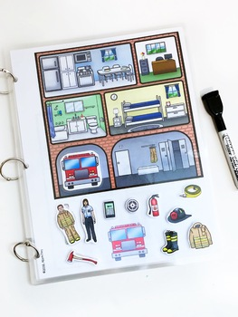 Life Skills Interactive Book: Fire Safety