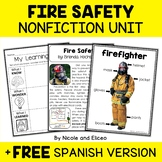 Nonfiction Unit - Fire Safety Activities