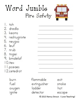 Fire Safety: A Primary Packet