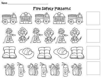Fire Safety AB Patterns