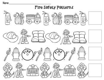 Fire Safety ABC Patterns
