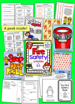 Fire Safety Activities PLUS ADDED BONUS: 40 Fire Safety BOOM Cards