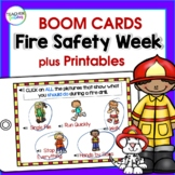 BOOM CARDS ELA |  Fire Safety Activities |  Fire Safety Week