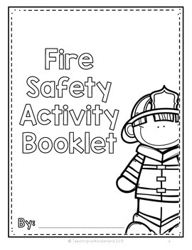Fire Safety Activities (Fire Prevention Week)