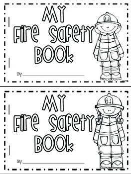 Fire safety activities craftivities and more by megan for Free printable fire prevention coloring pages