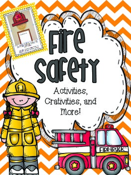 Fire Safety {Activities, craftivities, and more!}