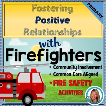 Fire Safety Activities for kindergarten and 1st Grade