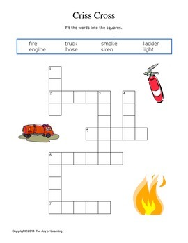 Fire Safety Activity Fun