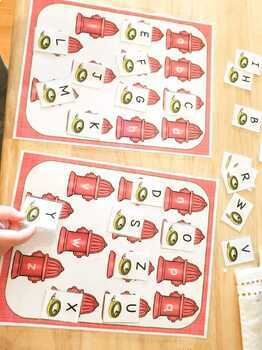 Fire Safety Activity Pack for Pre-K, Preschool and Tots