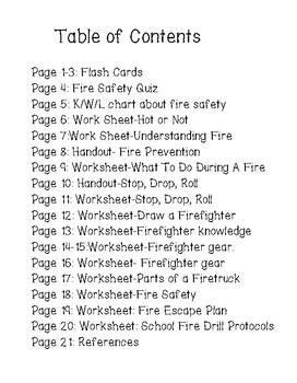 Fire Safety Activity Workbook