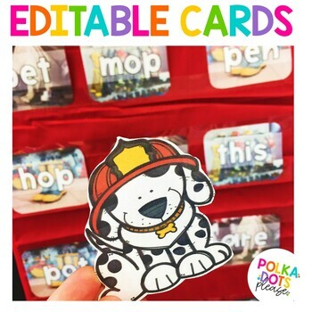 Fire Safety Alphabet and Sight Word Game