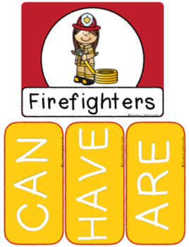 Fire Safety {Anchor Charts & Graphic Organizers}