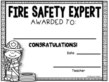 Fire Safety Awards - Fire Safety Expert